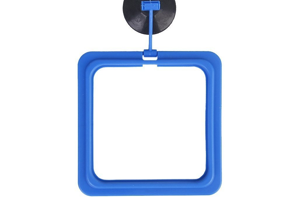Vogholic Aquarium Sucker Suction-cup Base Fish Feeding Station Feeder Ring